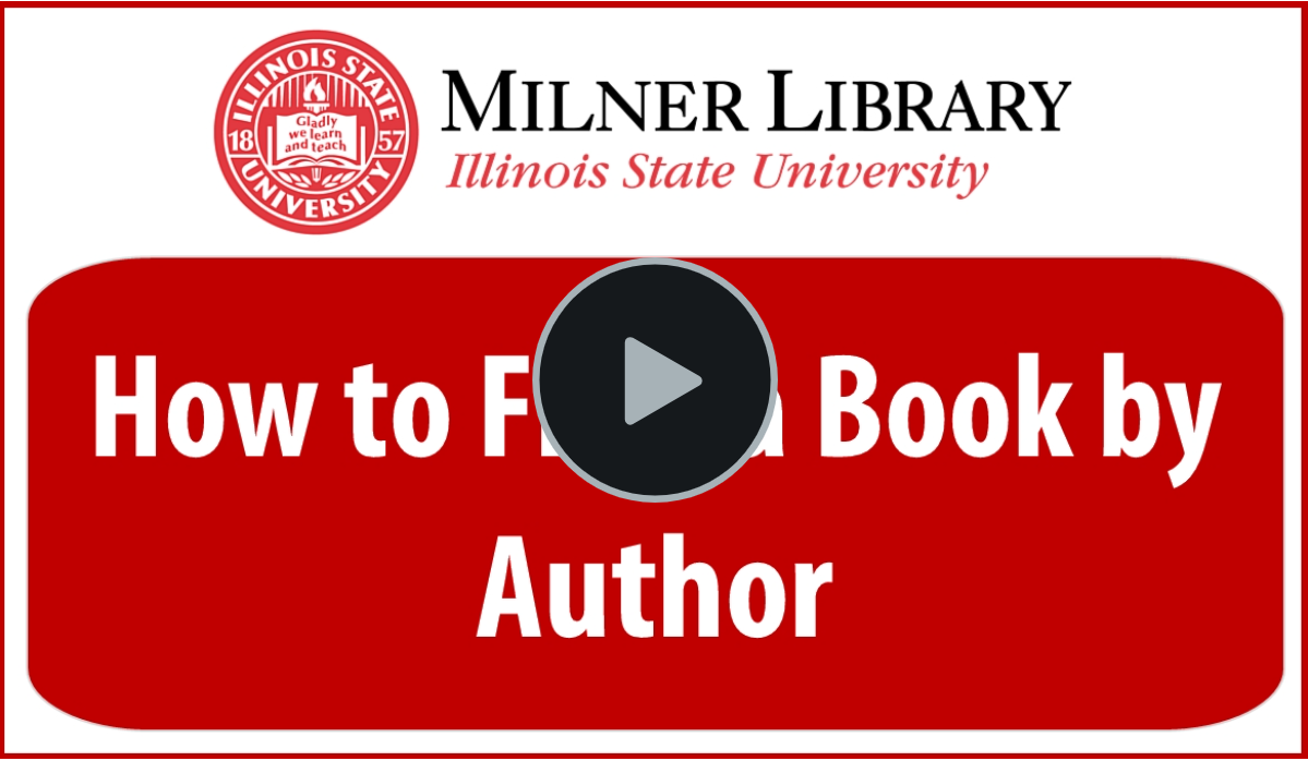 Find a Book by Author Thumbnail