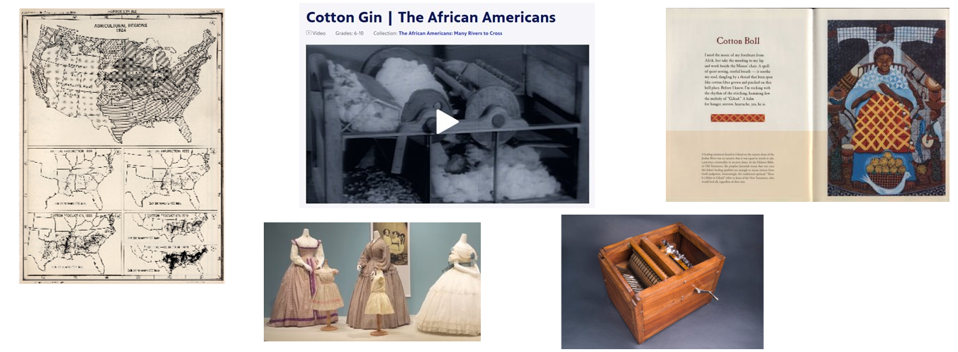 Text Set 2: The Cotton Gin