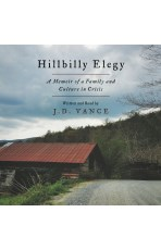 Audiobook cover for Hillbilly Elegy by J.B. Yance