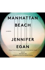Audiobook cover for Manhattan Beach by Jennifer Egan