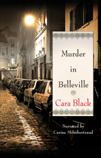 Audiobook cover for Murder in Belleville by Cara Black