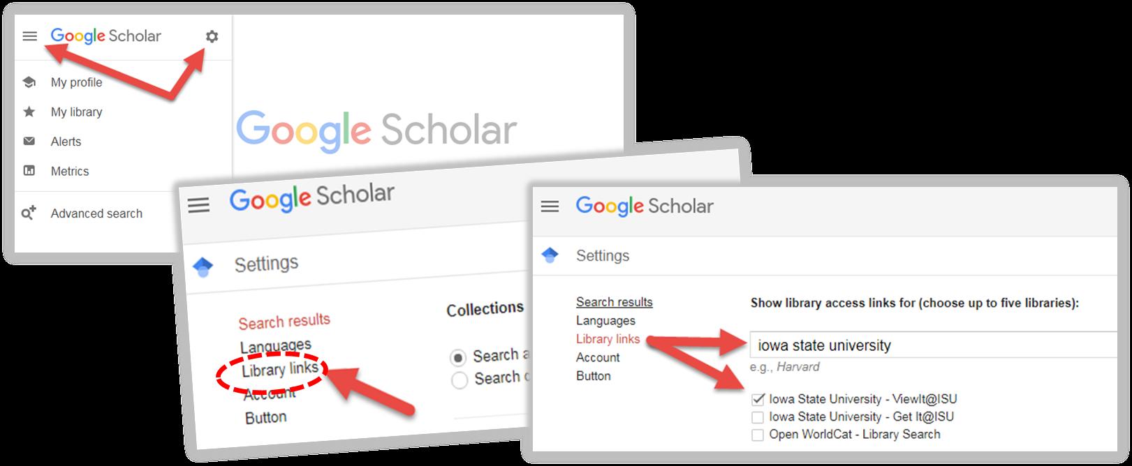 Sync Google Scholar