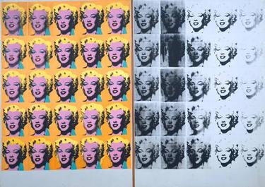 Marilyn Diptych, by Andy Warhol; courtesy Tate Gallery & Wikipedia