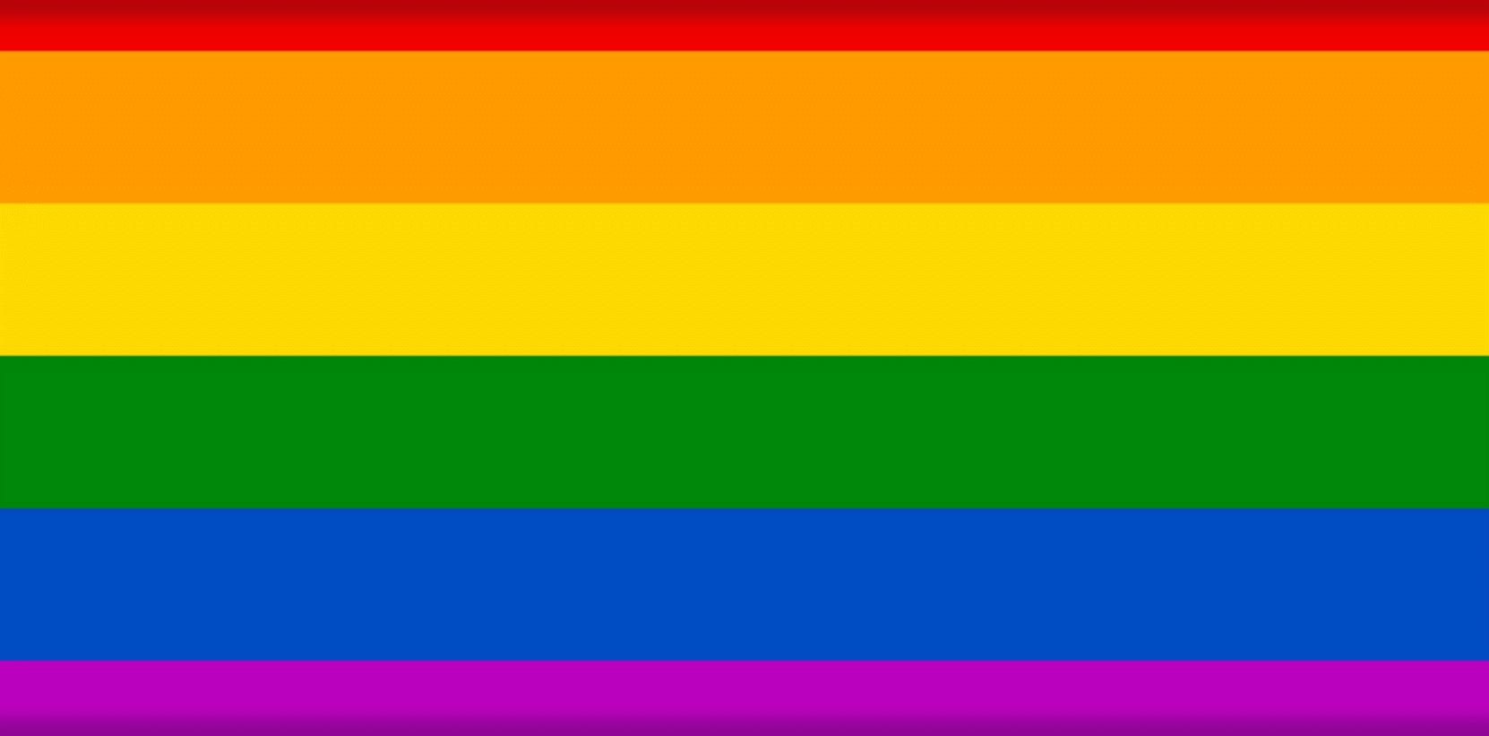 LGBTQ+ Pride Flag rainbow colors