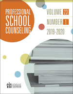 Professional School Counseling Cover