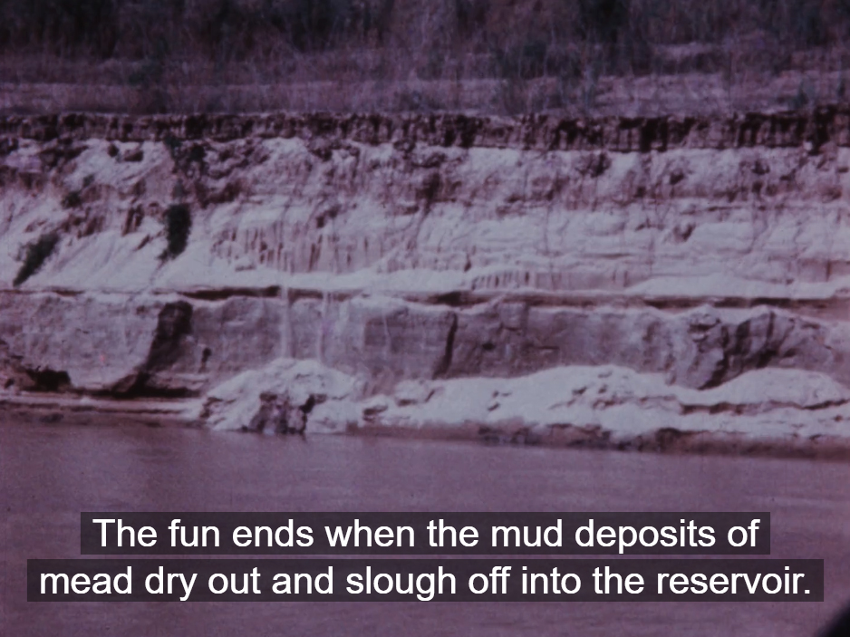 Screenshot from film The Grand Canyon: Living River, Living Canyon