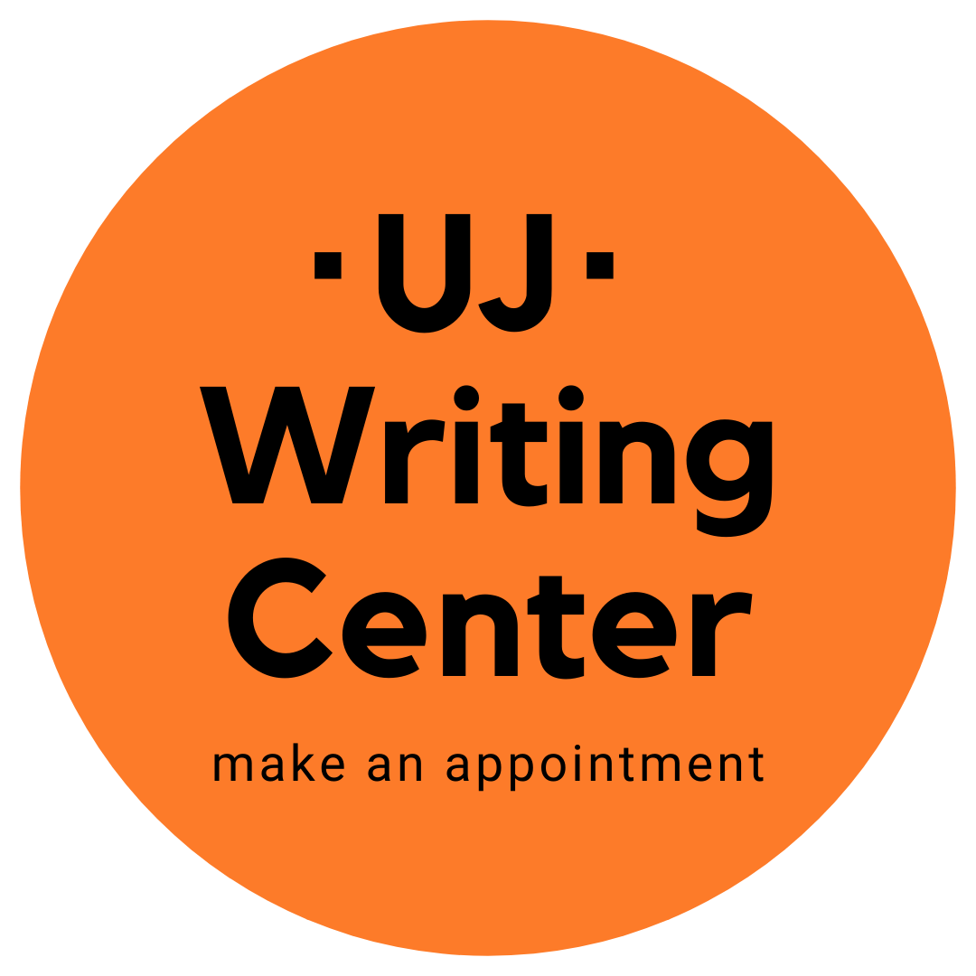 uj writing center: make an appointment