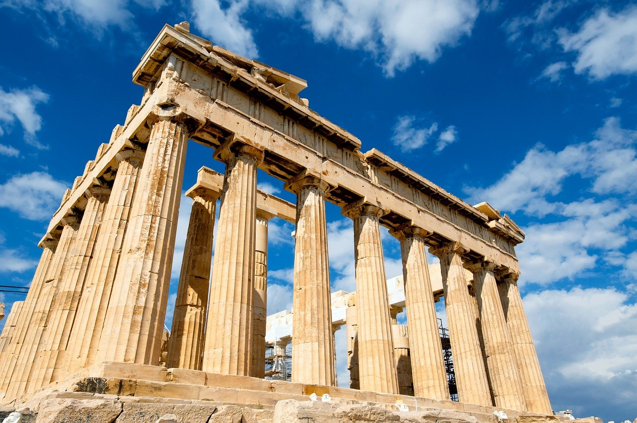 photo of the Parthenon in Greece