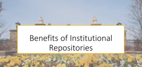 Link to Benefits of Institutional Repositories