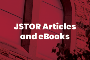 JSTOR articles and eBooks