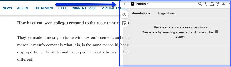 hypothesis citation panel