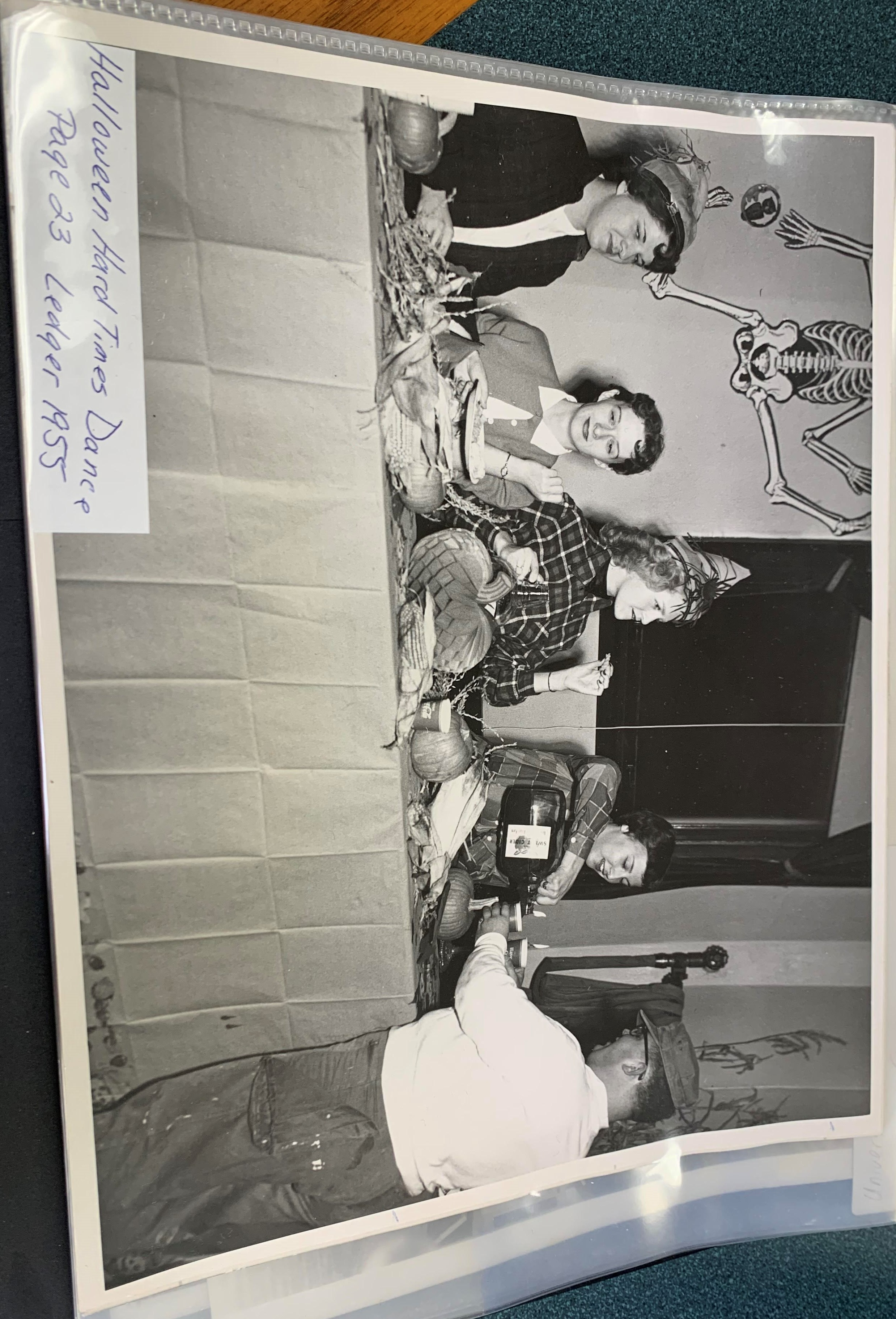 halloween dance 1955