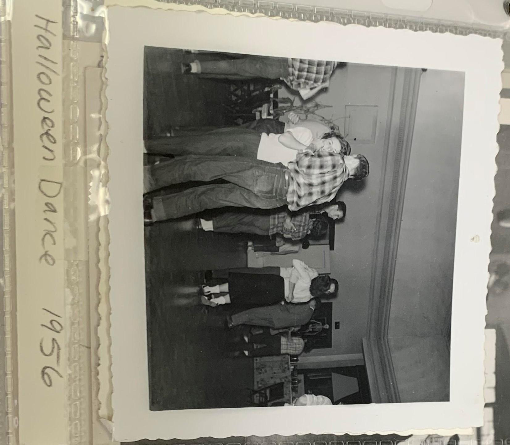 halloween dance 1956