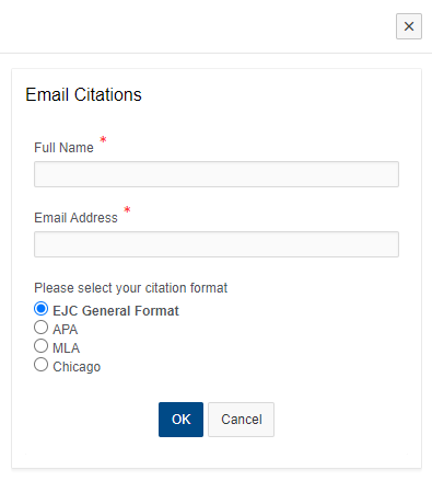 email citation