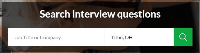 interviews search bar