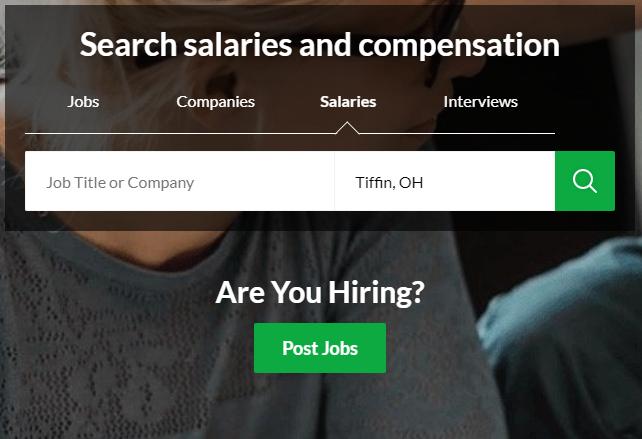 salary search bar
