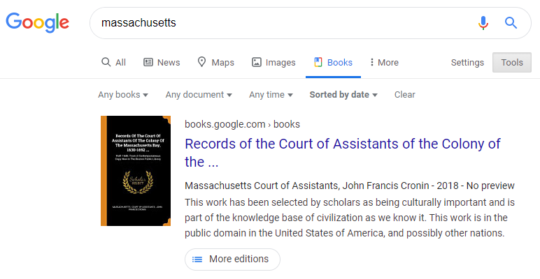 google books tabs