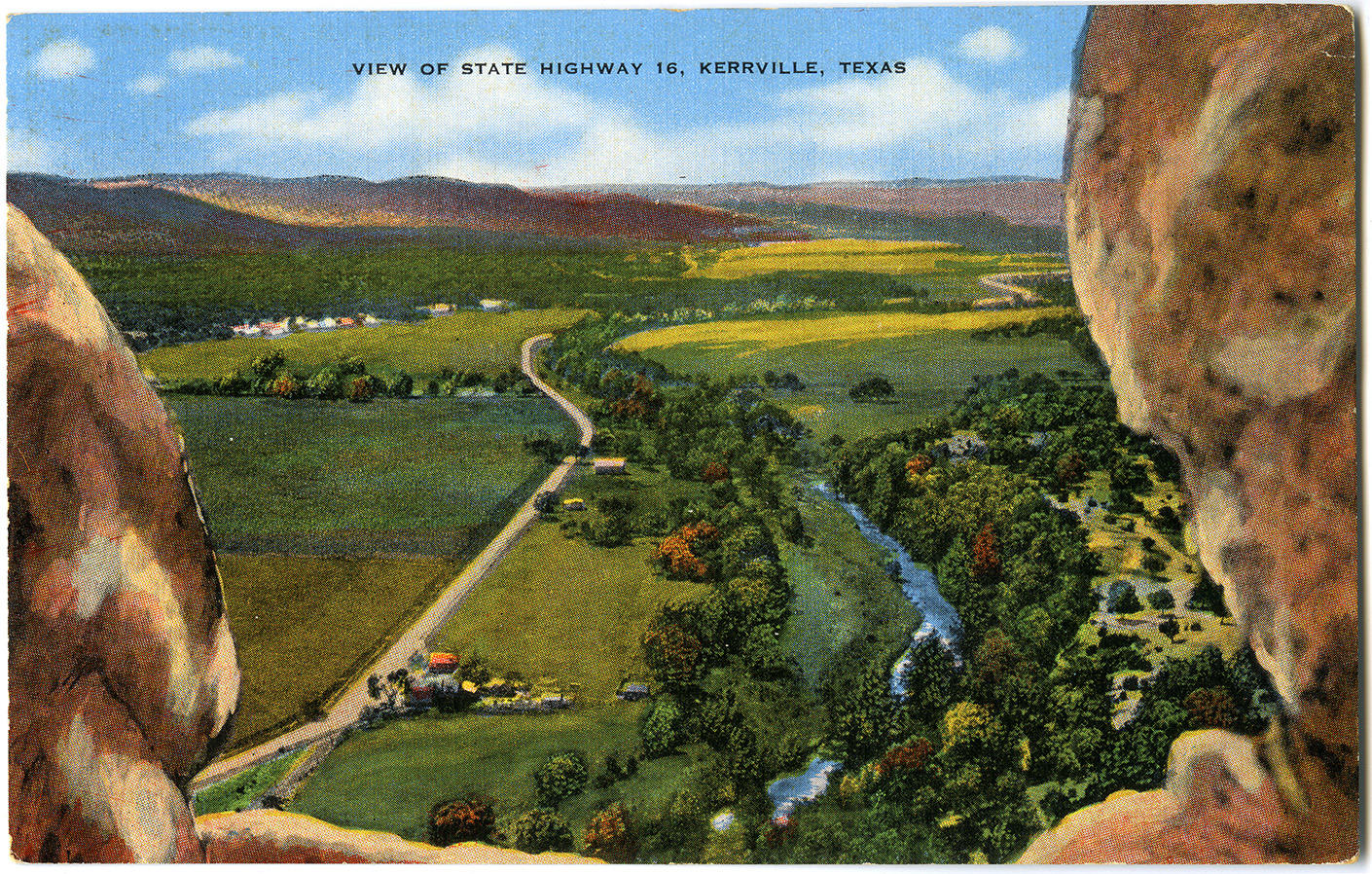 View of State Highway 16, Kerrville, Texas