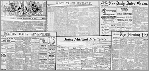 19th Century Newspapers