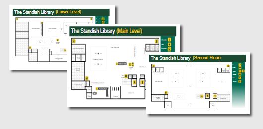 library floor maps