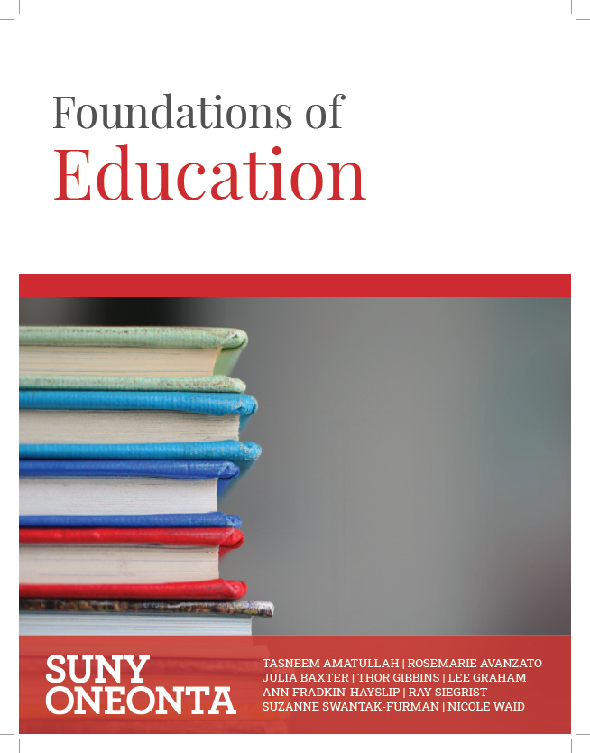 Foundations of Education book cover