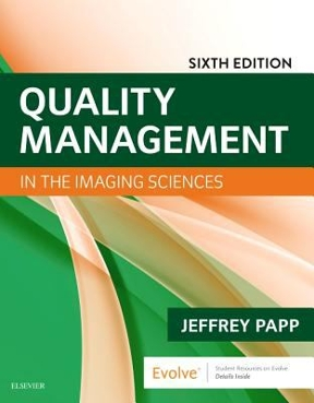 Quality Management in the Imaging Sciences book cover