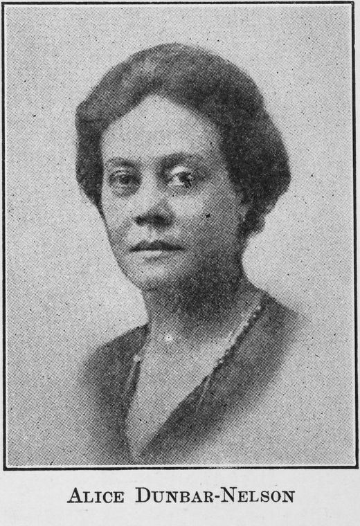 Image of Alice Dunbar - Nelson. Date Issued 1923.