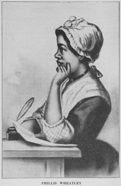 Phillis Wheatley. Date Issued 1923.