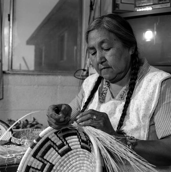 Selections of Photographs from Helga Teiwes' Hopi Basket Weaving Project Collection