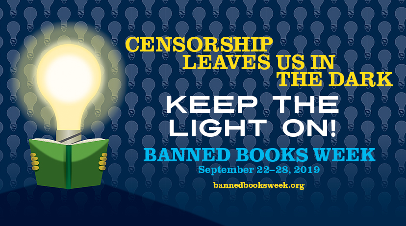 Banned Books Week 2019 Banner