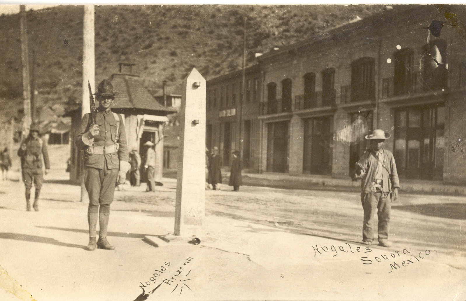 Border, Nogales, Arizona 1910-1920