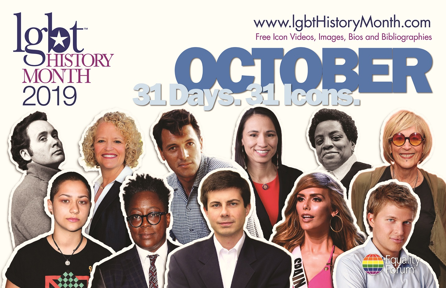 LGBT History Month Icons