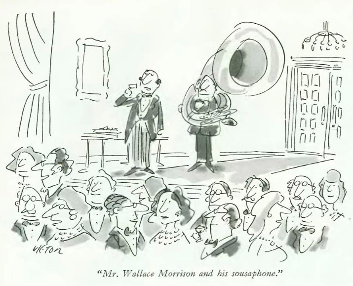 mr wallace morrison and his sousaphone