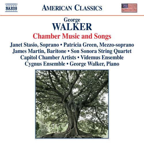 George Walker Chamber Music and Songs Album Art