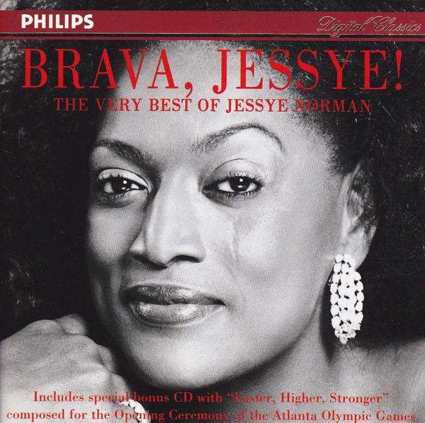 Brava Jessye: The Very Best of Jessye Norman Album Art