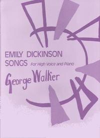 George Walker Emily Dickinson Songs Cover Art