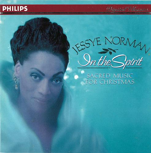 Jessye Norman, In the Spirit: Sacred Music for Christmas Album Art