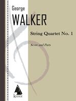 George Walker String Quartet no. 1 Cover Art