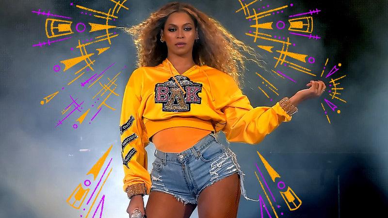Beyonce headshot