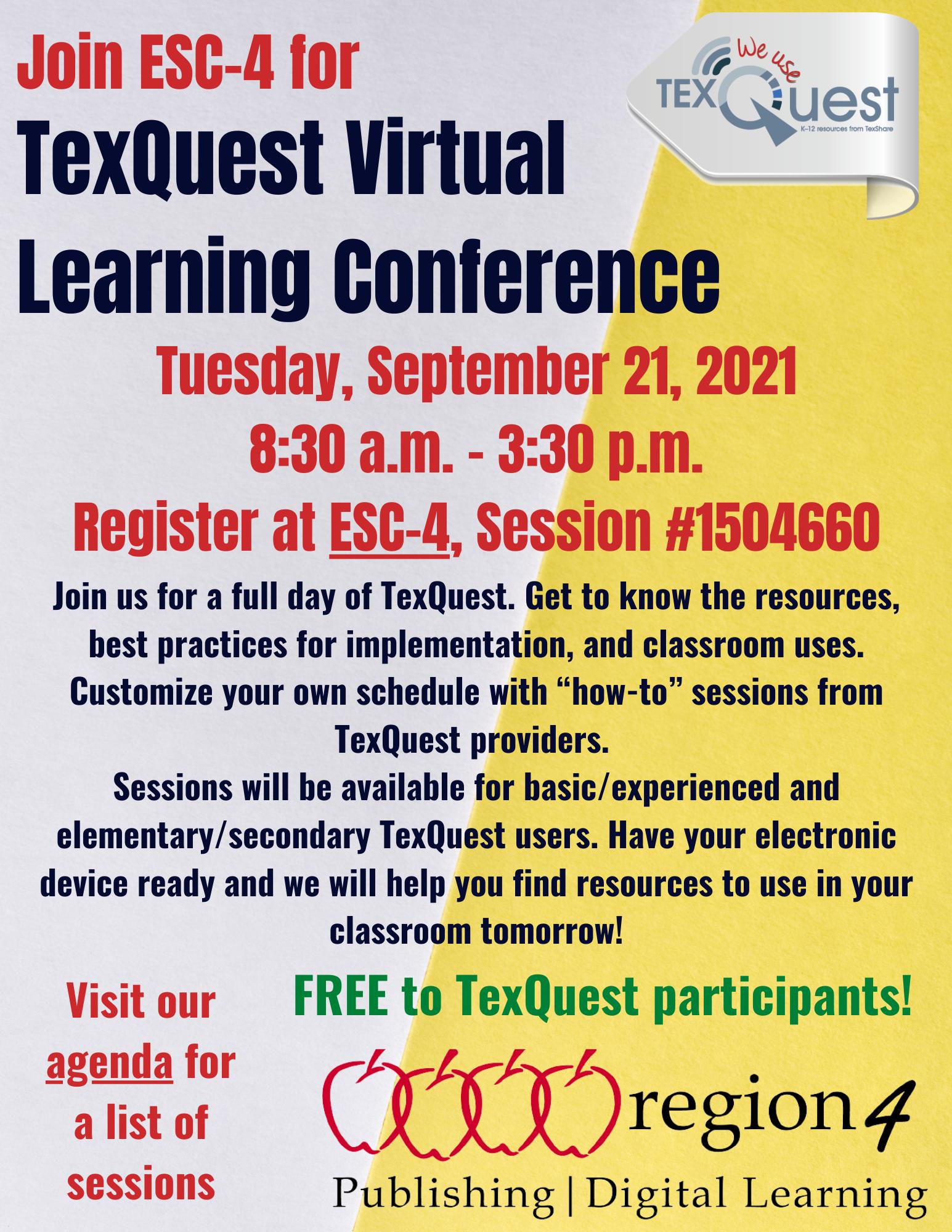 conference flyer with registration link