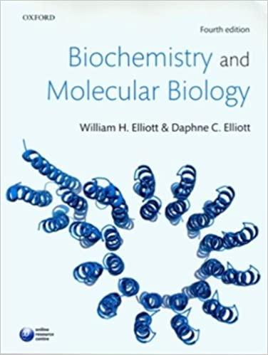 Biochemistry and molecular biology Elliott