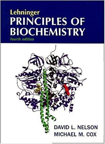 Lehninger principles of biochemistry (4th edition)