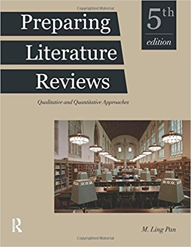 Preparing literature reviews book cover