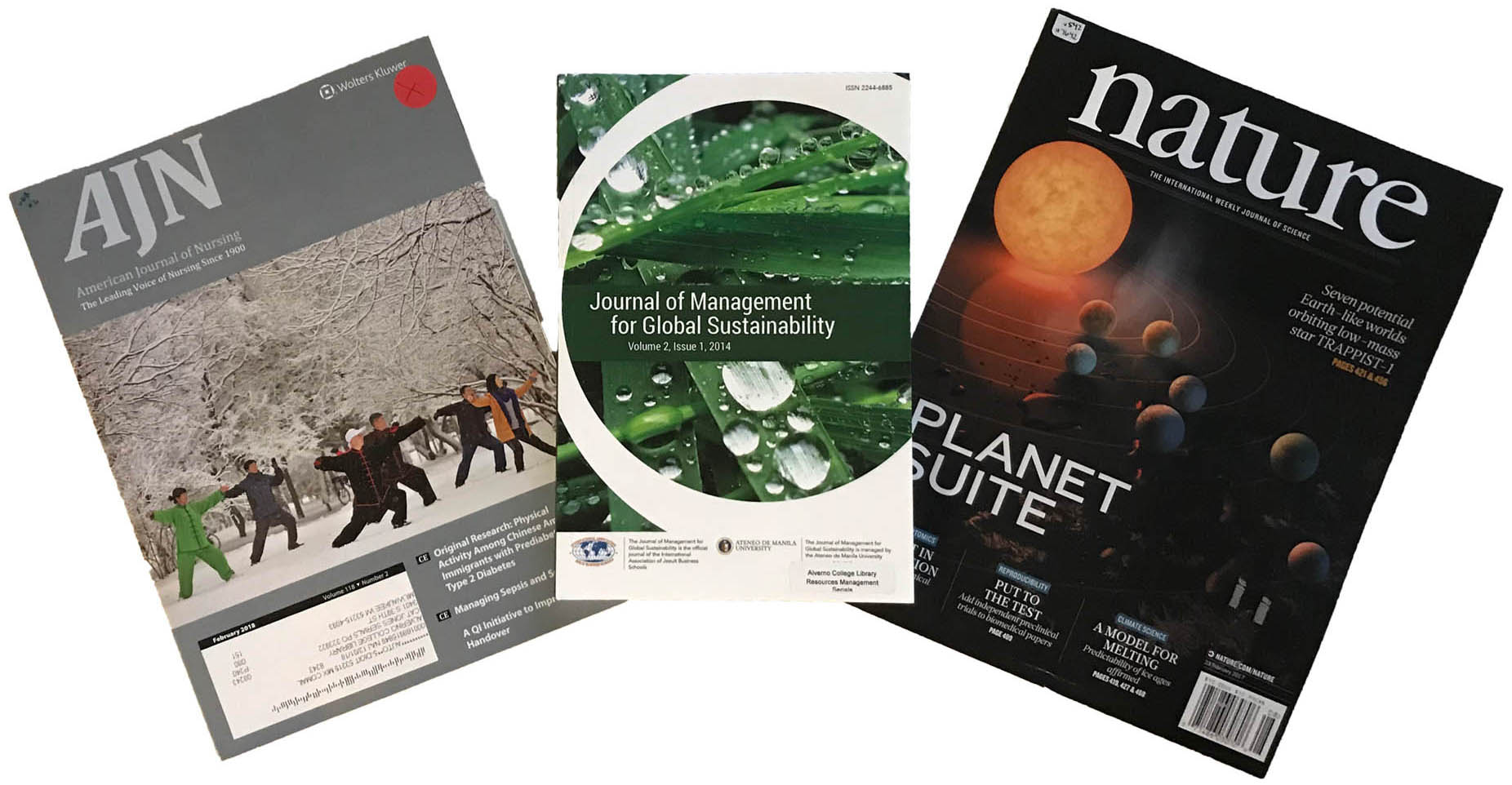 Journal covers image