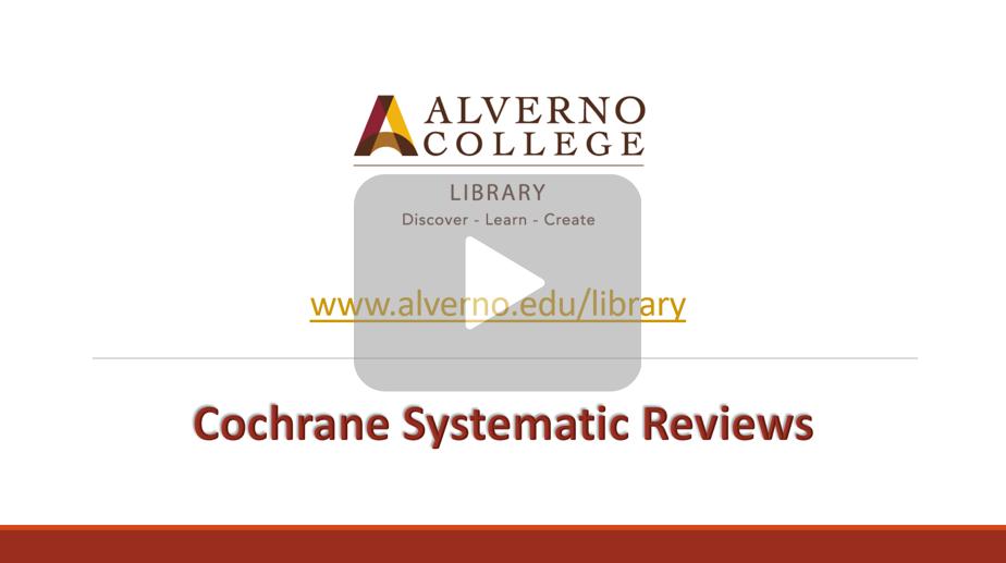 Cochrane Library