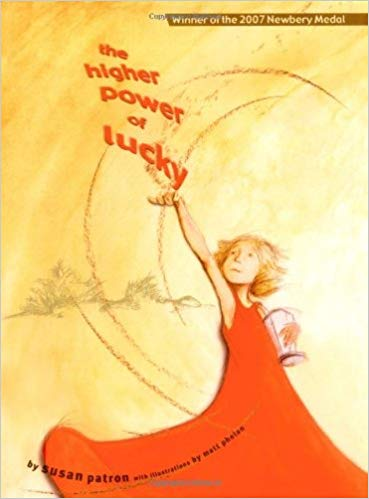 The higher power of lucky book cover