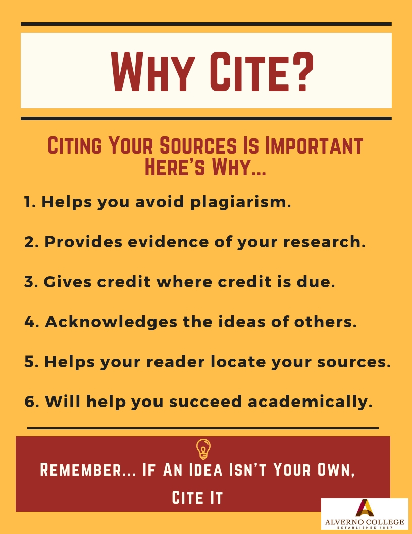 Why cite graphic