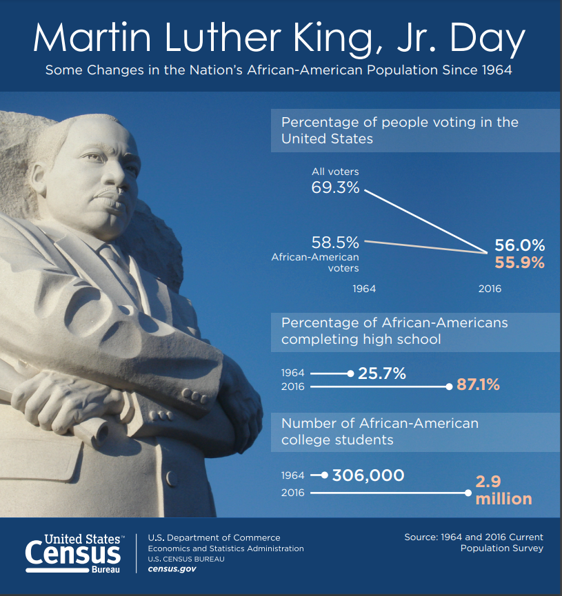 MLK Day Infographic