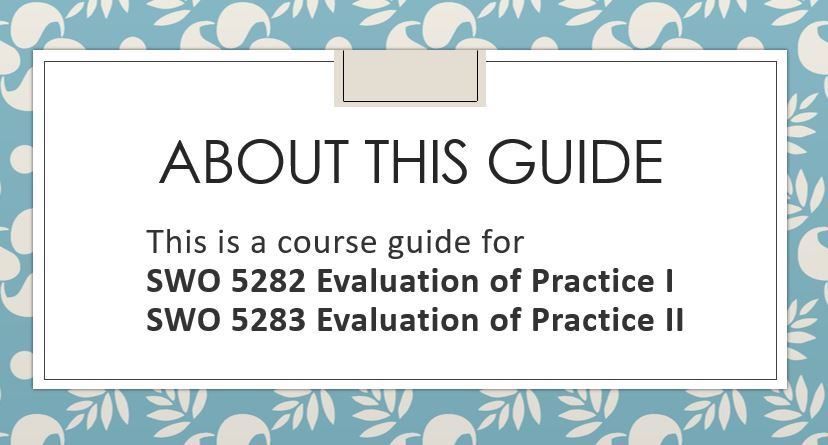 a graphic that says about this guide