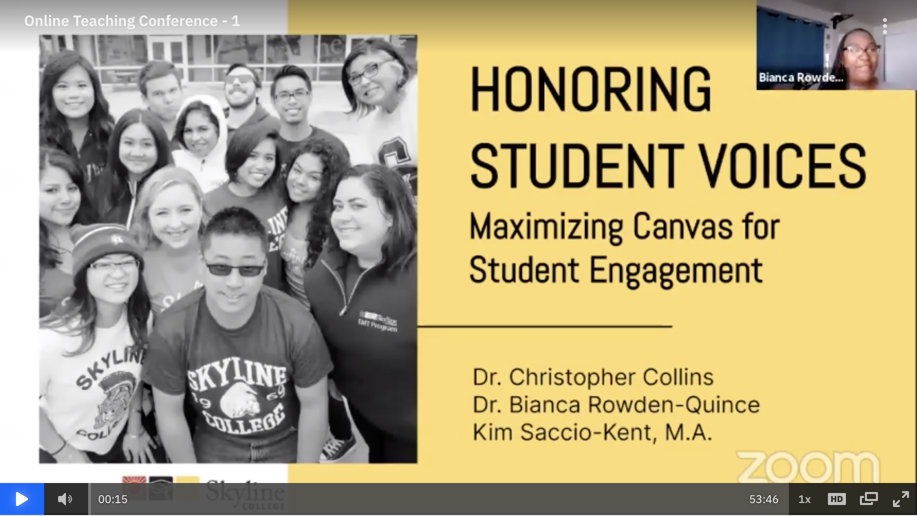 Honoring Student Voices